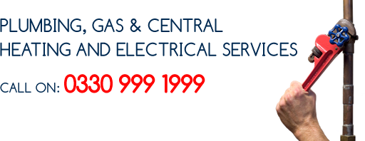 Plumbing, Electrical, Gas & Central Heating Services Title